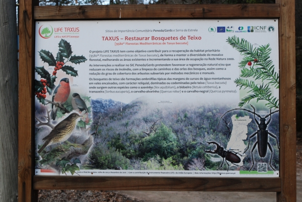 The exhibition is at the Environmental Education Center Birch - CEAV - Gerês .